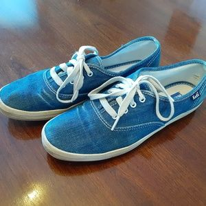 Vintage Denim Keds Champion Sneakers 7